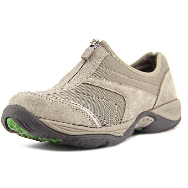 Easy Spirit Ellicott Women Round Toe Suede Gray Walking Shoe