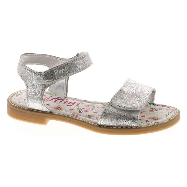 Primigi Girls 14396 Leather European Stunning Fashion Sandals - Silver