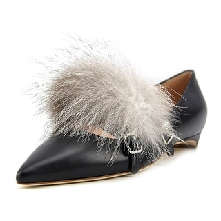 Rupert Sanderson Ralph Pointed Toe Leather Flats