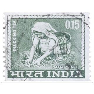 """Indian postage stamp"" Poster Print"