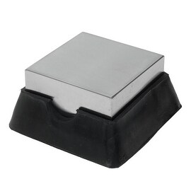 Mini Rubber And Steel Bench Block For Metal Working And Wire Hardening
