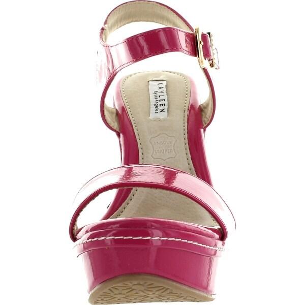 Shop Kayleen Cheri 1 Womens Patent Strappy High Heel