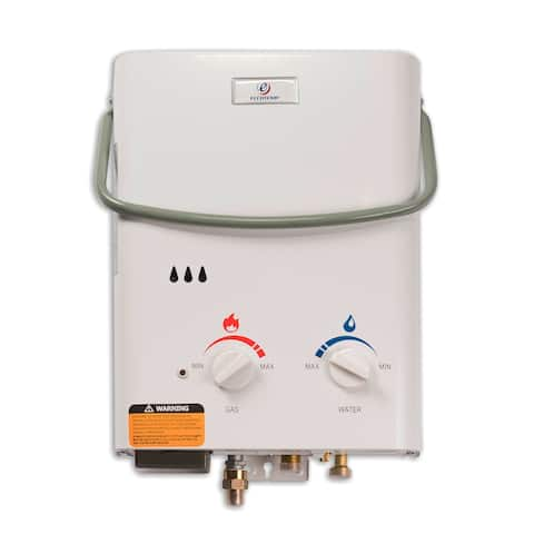 Eccotemp L5 1.5 GPM Liquid Propane Portable Tankless Water Heater - White
