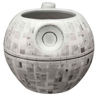 Star Wars Death Star Mug - 3D Sculpted Ceramic Coffee Cup - 14 Ounce