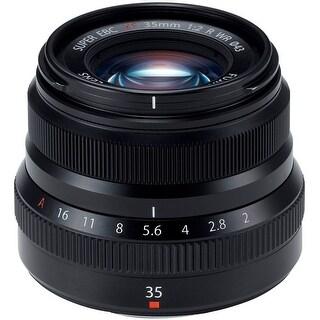 Fujifilm XF 35mm f/2 R WR Lens (Black) (International Model)
