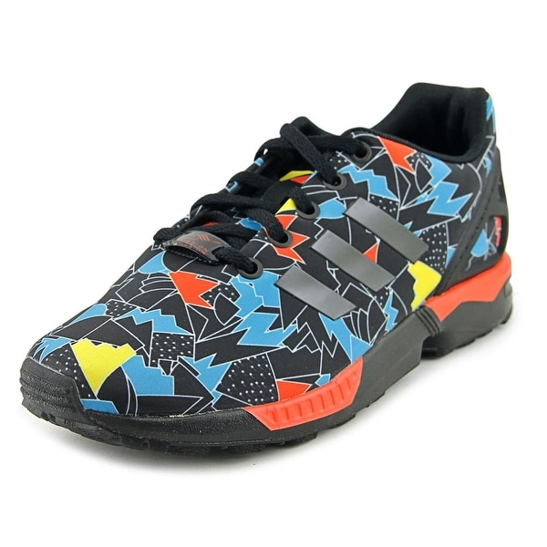 Shop Adidas ZX FLUX J Boy Ftwwht Cblack Boaqua Athletic Shoes - Free ... 079228252