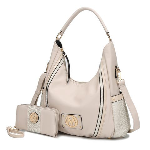 MKF Collection Eden Snakeskin Hobo Bag With Wallet By Mia K. by  #2