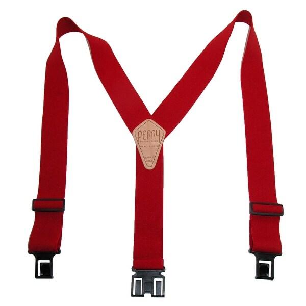 Perry Suspenders Men's Elastic Hook End Suspenders (Tall Available)