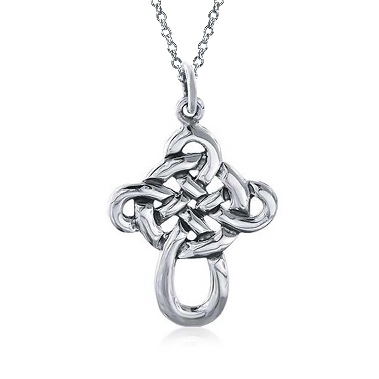 "18/"" 925 Silver Black Diamond Accent Twist Necklace"