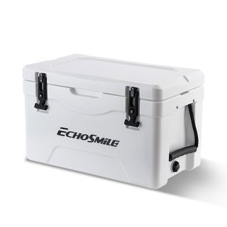 Link to EchoSmile 30 Quart White Rotomolded Cooler Similar Items in Camping & Hiking Gear