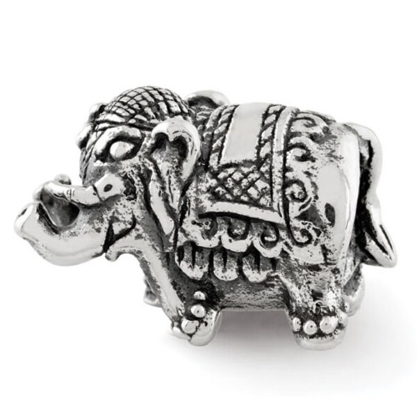 Sterling Silver Reflections Elephant Bead (4mm Diameter Hole)