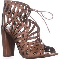 Jessica Simpson Emagine Lace Up Sandals, Burnt Umber