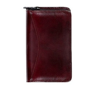 Scully Planner Italian Leather Weekly Zip Closure