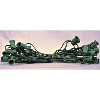 Christmas at Winterland WL-NET-C9 C9 Socketed Net Cord - Green - N/A
