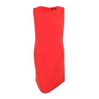 Nine West Women's Plus Size Crepe Shift Dress (Option: 16w)