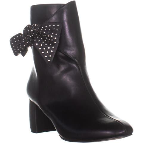 Nanette Lepore Nathalie Mid Calf Boots, Black - 7 US