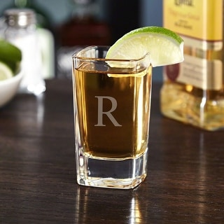 Link to Squared Double Personalized Shot Glass Similar Items in Glasses & Barware
