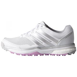 Adidas Women's Adipower Sport Boost 2 FTWR White/Matte Silver/Wild Orchid Golf Shoes F33287|https://ak1.ostkcdn.com/images/products/is/images/direct/80c1505c672665599ef84bbd1b8d0a8301cb1644/Adidas-Women%27s-Adipower-Sport-Boost-2-FTWR-White-Matte-Silver-Wild-Orchid-Golf-Shoes-F33287.jpg?impolicy=medium