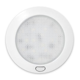 LED 12Volt 3inch LED Switched Ceiling Panel Light RV Motorhome Trailer Boat Yacht Indoor Roof Wall Lamp Warm White