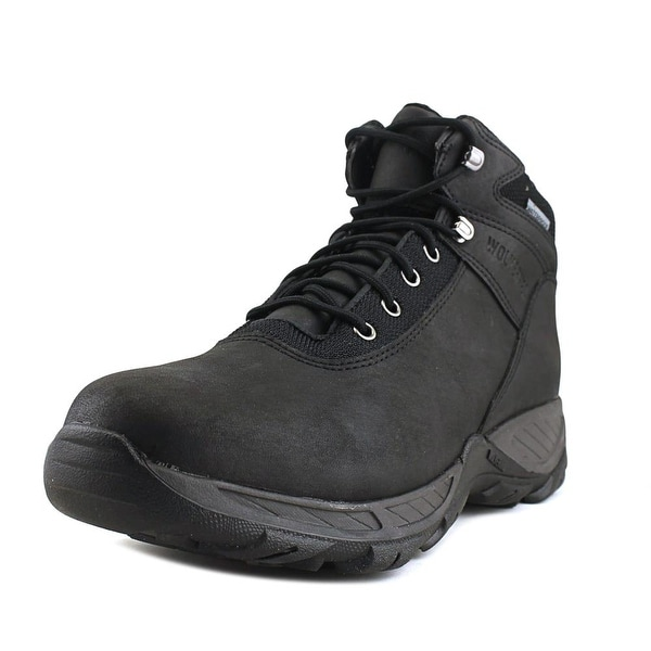 7c3bd58e401 Shop Wolverine Trailhead Men Steel Toe Leather Black Work Boot ...