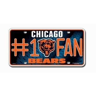 Chicago Bears License Plate 1 Fan