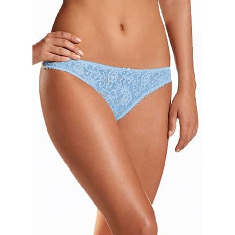 Jockey 2035 Women's Floral Lace Low Rise Thong Underwear