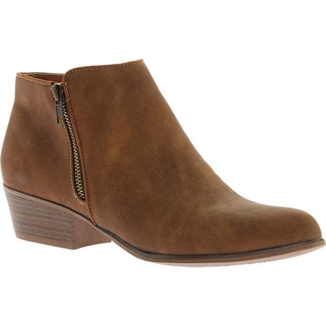 Portland Boot Company Women's Zinnia Zip Ankle Boot Taupe