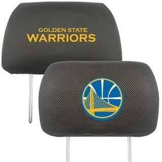 "NBA - Golden State Warriors Head Rest Cover 10""x13"""
