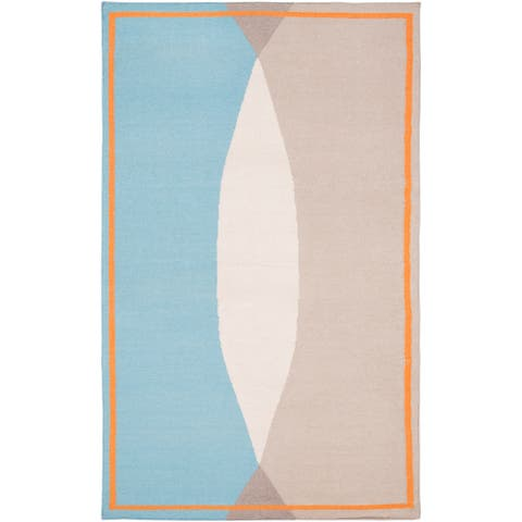 "Carson Carrington Sibbo Hand-Woven Wool Area Rug - 5' x 7'6"""
