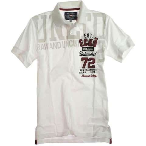 Ecko Unltd. Mens Better T1 Rugby Polo Shirt