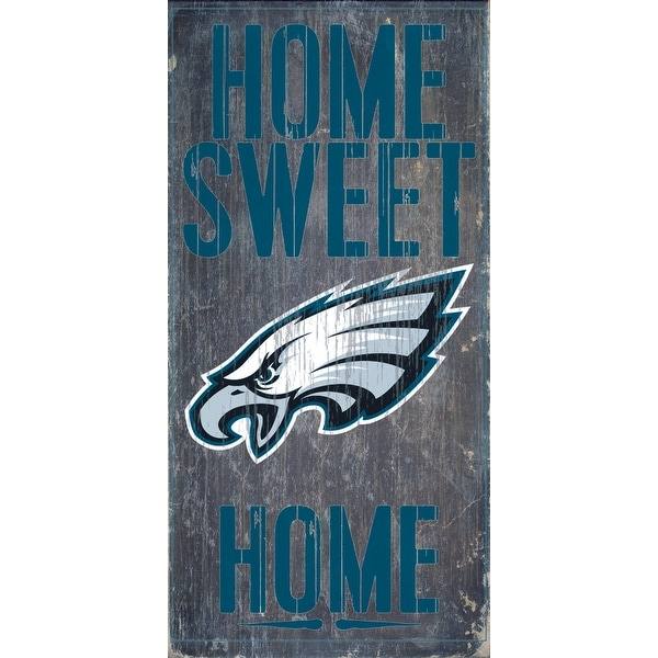 Shop Philadelphia Eagles Wood Sign Home Sweet Home 6 X12 Free