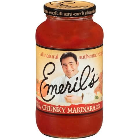 Emeril's Chunky Marinara Sauce Pasta Sauce 25 Oz (Pack of 6)