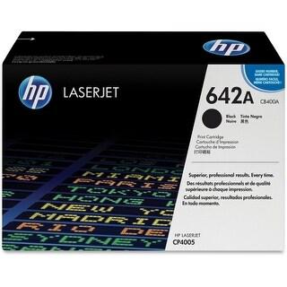 Hewlett Packard CB400A HP 642A (CB400A) Black Original LaserJet Toner Cartridge