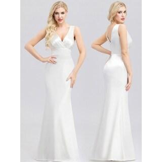 Ever-Pretty Womens Elegant Mermaid V-Neck Evening Dresses 00965