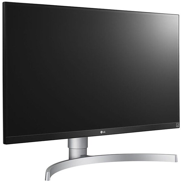 LG 27UL650-W 27 Inch 4K UHD LED Monitor with VESA DisplayHDR 400,. Opens flyout.