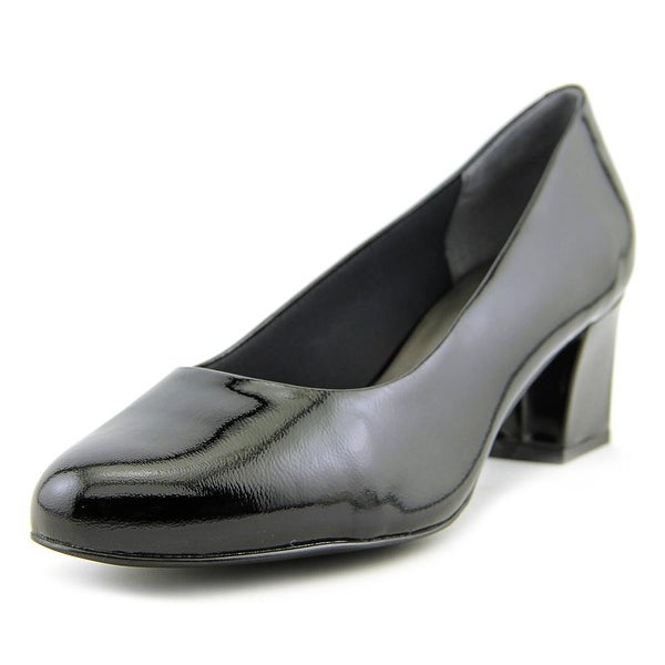 Trotters Candela Black Pumps