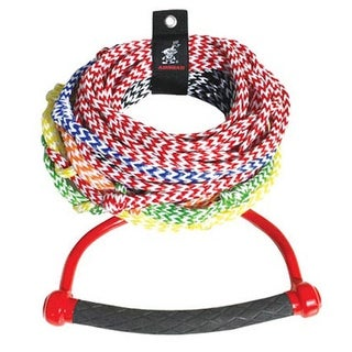 """Airhead 75 Feet Long 8 Section Radius Handle Ski Airhead 8 Section Radius Handle Ski Rope"""
