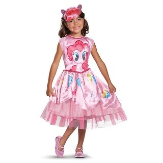 Girls Pinkie Pie Movie My Little Pony Costume