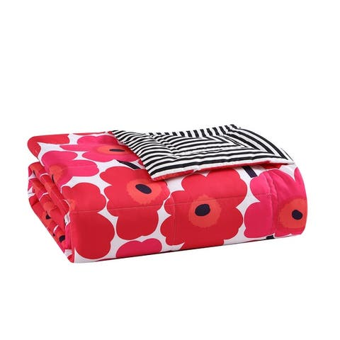 Marimekko Reversible Down Alt Throw Blanket