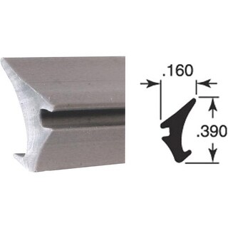 Prime Line Prod. 200' Gray Glass Spline P7774 Unit: ROLL