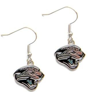 Jacksonville Jaguars Dangle Logo Earring Set Charm Gift NFL