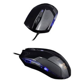 Cobra EMS108 Black Maximum 2400-dpi Wired Gaming Mouse