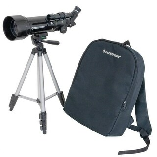 Celestron 21035 70mm Travel Scope w/ 2.76 Inch Aperture & 165x Magnification