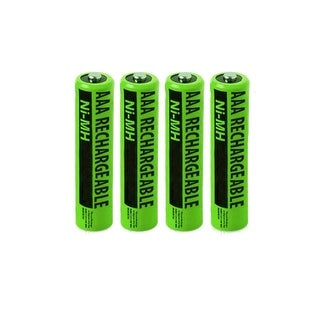 Replacement Rechargeables AAA Alkaline Batteries (4Pack)