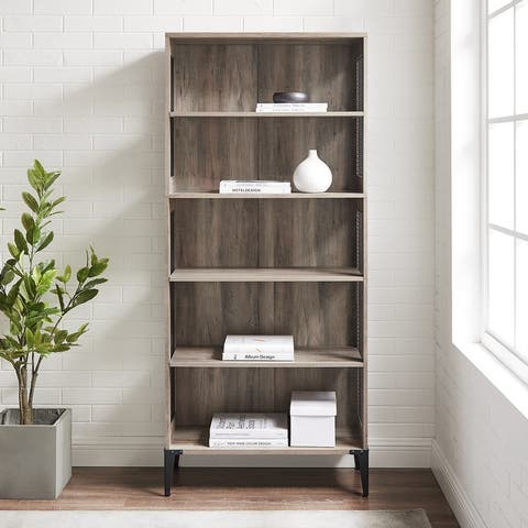 Carbon Loft 68-inch Tall Mesh Side Panel Bookshelf