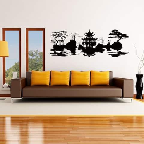 Asian Harmony Vinyl Wall Art