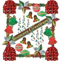 Seasons Greetings Reflections 31 Piece Christmas Decorating Kit