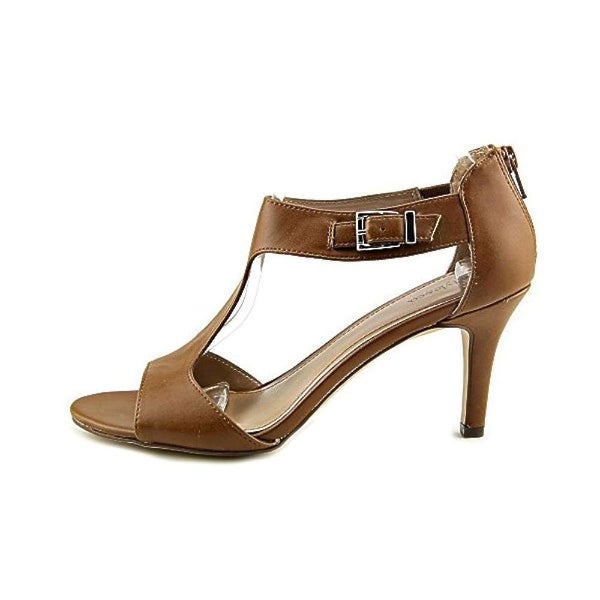 Style & Co. Womens SACHII Open Toe Ankle Strap Platform Pumps