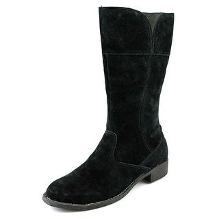 Propet Lexington   Round Toe Suede  Mid Calf Boot