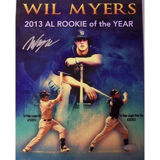 Wil Myers Hand Tampa Bay Rays 11x14 Photograph